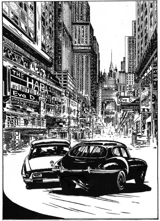 Diabolik e Ginko a New York