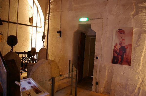 Blick auf den Zugang von der 2. Empore des Kirchensaals