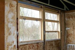 Rekonstruierte Fenster
