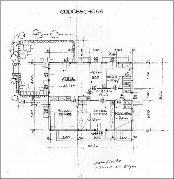 Baueingabeplan 1948
