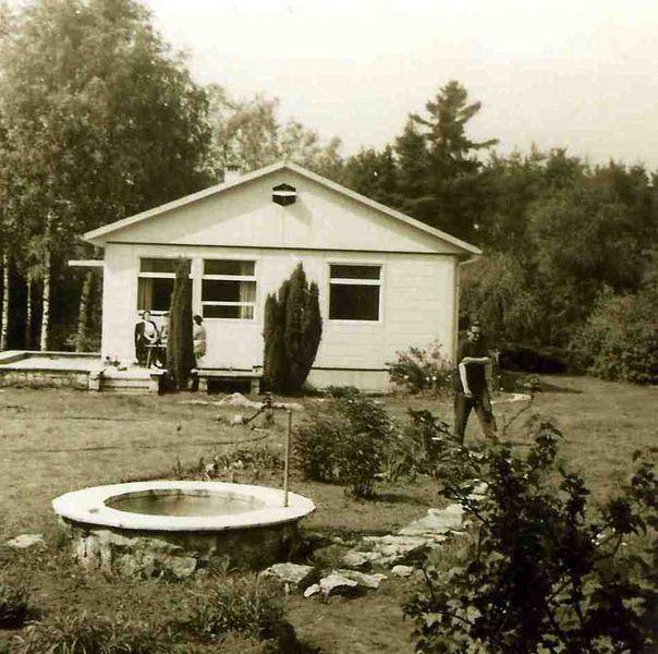 Südgiebel um 1960