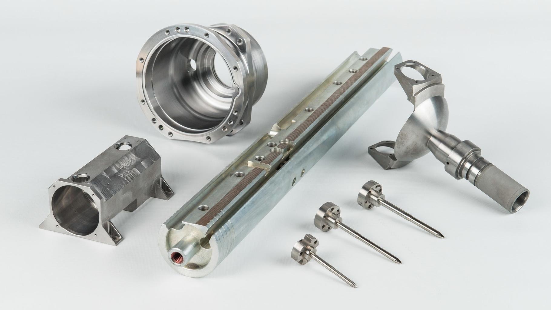 CNC-5-Achs-Frästeile