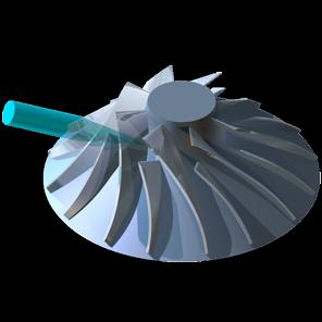 5-Achs-Simultan-Fräsen / Turbinenradfräsen