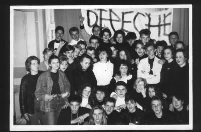 Zdjęcie zrobione na jednej z Depeszotek w latach 90-tych. Dokładnie 18 maja 1991 roku