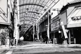 昭和30年頃の西二階町商店街