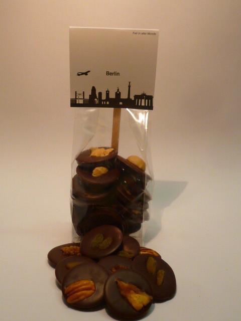 100 g Rohkost Schokoladentaler