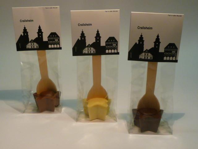 Crailsheim auch in Schokoladentaler