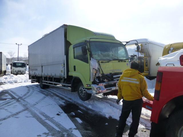 事故車も当社では高価買取致します。