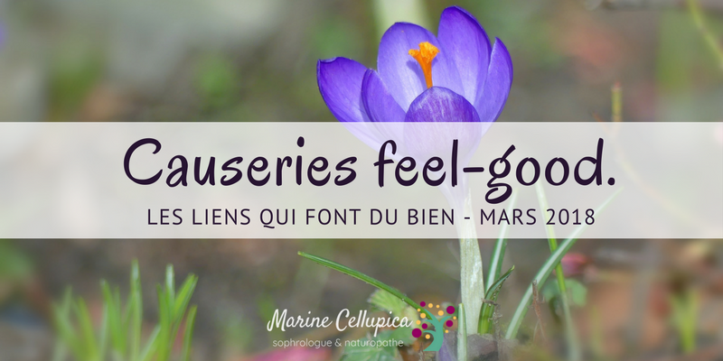 Causeries feel-good: les liens qui font du bien par Marine Cellupica sophrologue & naturopathe