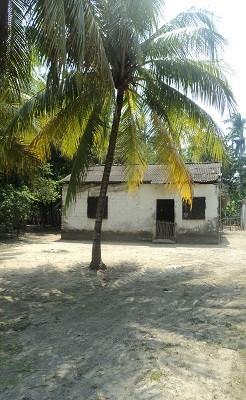 Casa tradicional del poblado de Cupilco