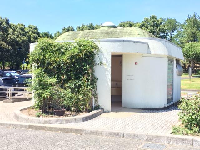 木曽川祖父江緑地_トイレ・授乳室・駐車場