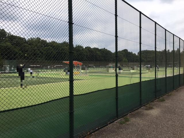 小幡緑地_西園テニスコートなどのスポーツ施設