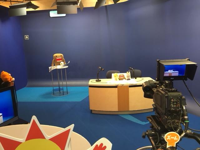 体験施設_NHK放送体験スタジオわくわく