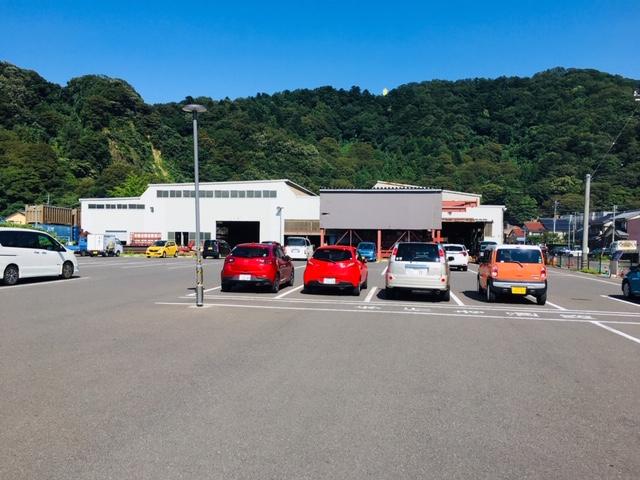 東尋坊の駐車場の収容台数・料金