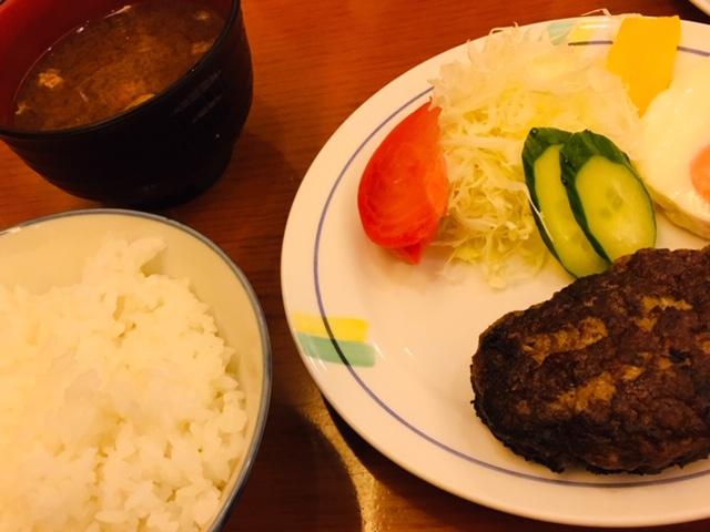 ステーキハウス「ふくわか」 ランチ ハンバーグ