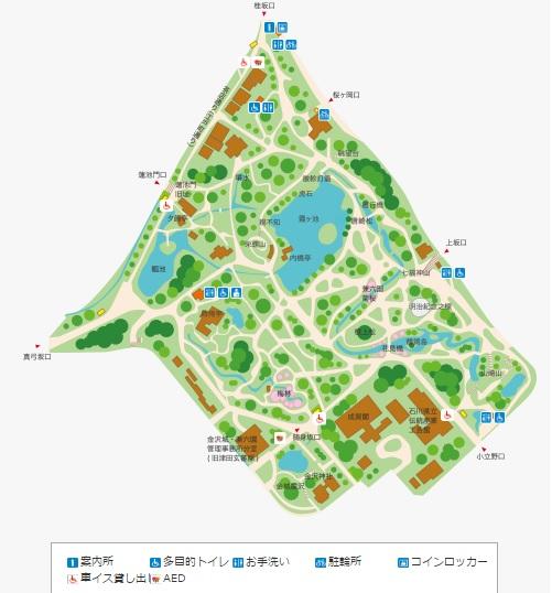 兼六園マップ