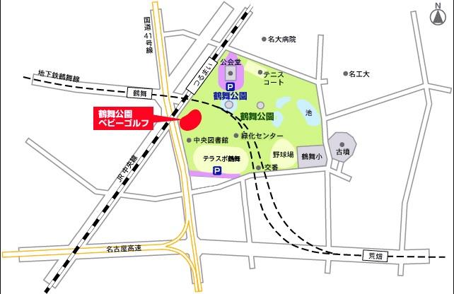 鶴舞公園_駐車場