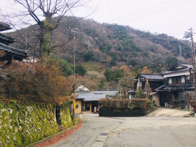 こおろぎ橋(山中温泉)周辺散策