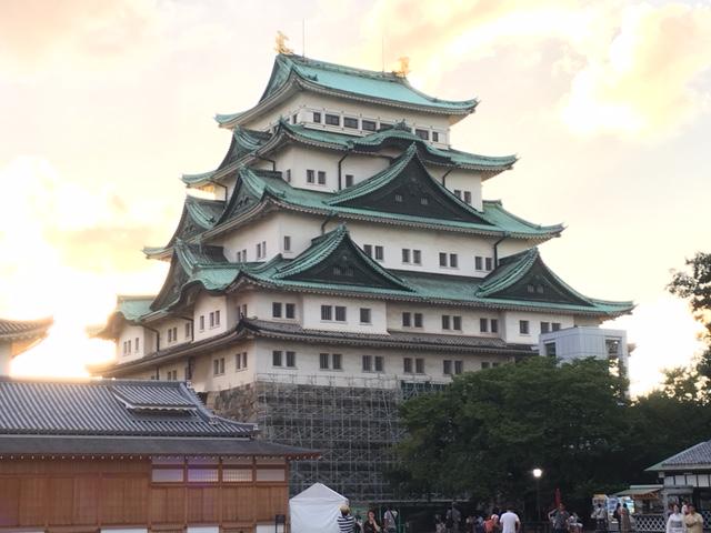 日本の100名城「名古屋城」
