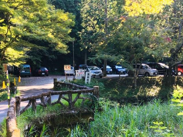 岩屋堂公園(愛知県瀬戸市)の駐車場の収容台数・設置状況は?