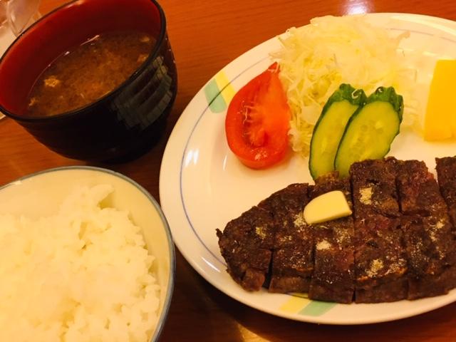 ステーキハウス「ふくわか」 ランチ ビーフステーキ