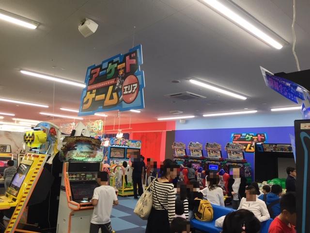 ファンタジーキッズリゾート名古屋北_アーケードゲームエリア
