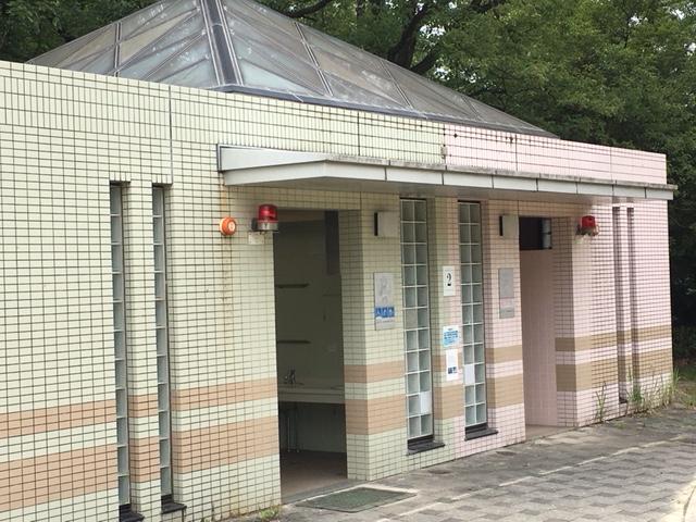 小幡緑地_西園トイレ・授乳室・駐車場