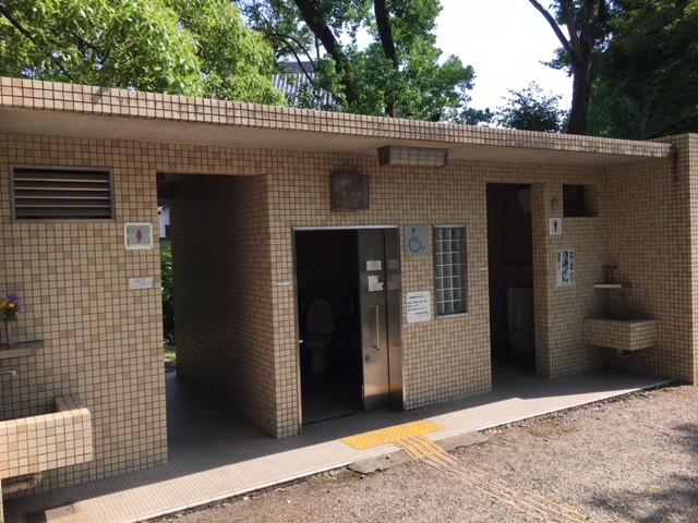 中村公園_トイレ・授乳室・駐車場
