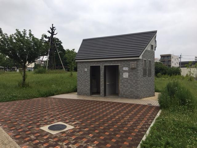 川名公園_トイレ・授乳室・駐車場