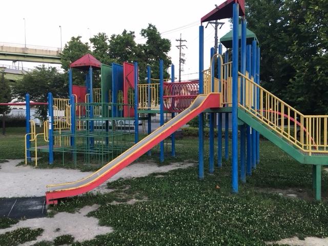 大我痲公園の遊具