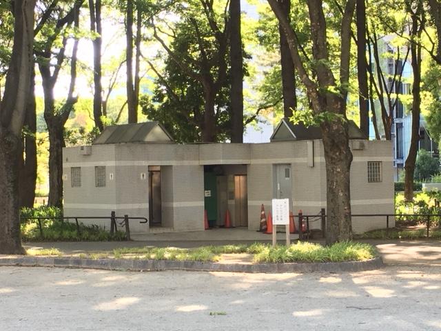 白川公園 トイレ・授乳室・駐車場