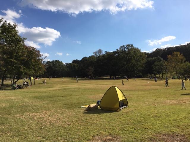 愛知県森林公園_ピクニック・芝生広場
