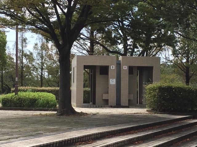 荒子川公園のトイレ、授乳室