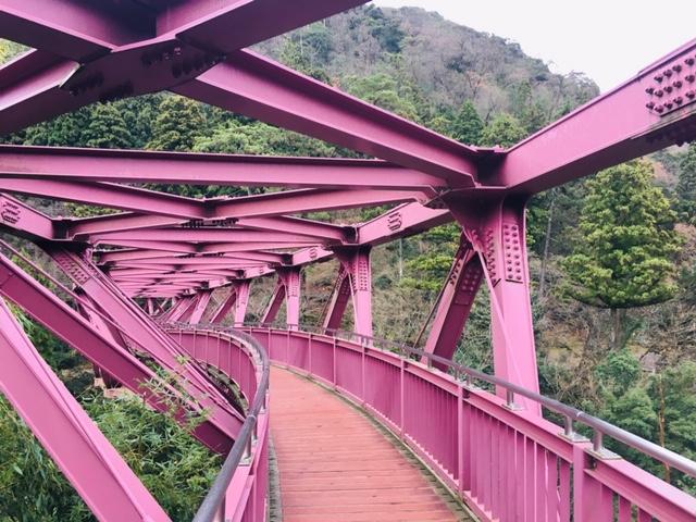 あやとり橋(山中温泉)