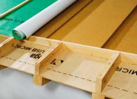Application membrane toit hautement transpirable