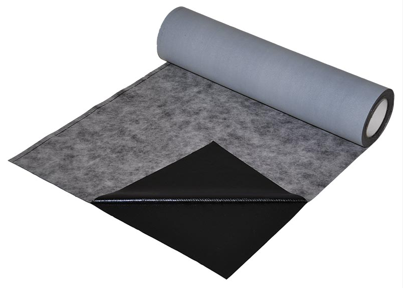 Bituminous adhesive strips