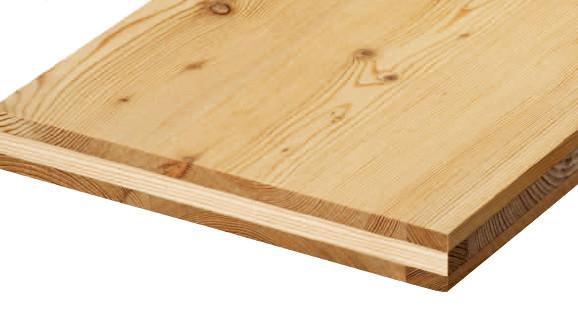 Panneau bois massif 3 couches