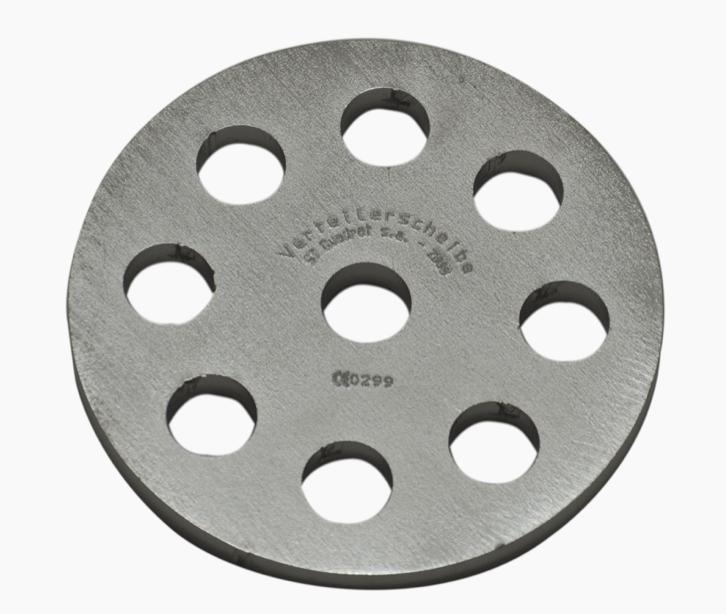 Distribution plate