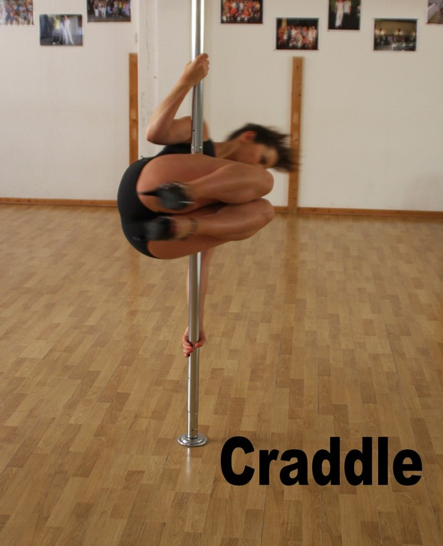 craddle / crounch spin / barbed wire spin