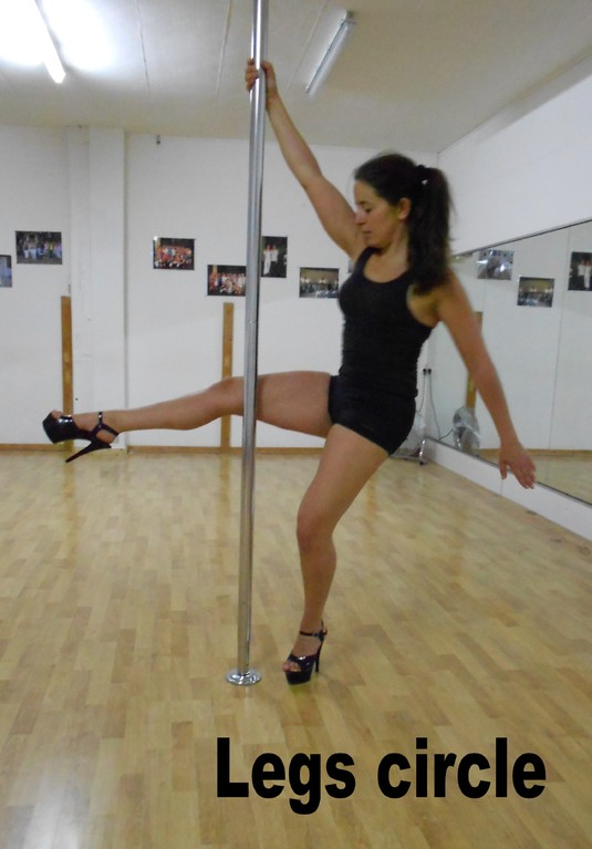 legs circle / dips / extended legs step around