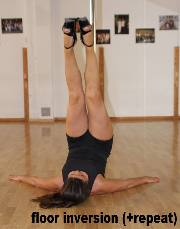 floor inversion / shoulder stand