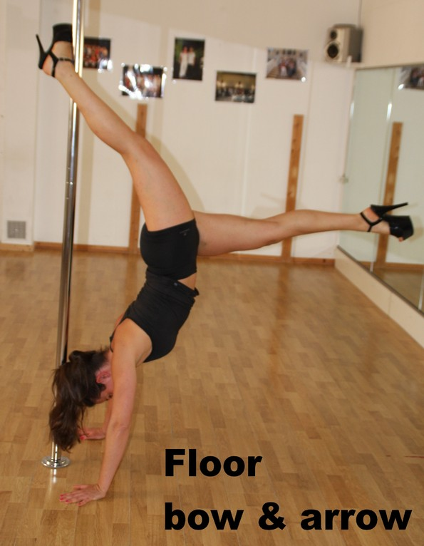 floor bow and arrow / floor extended archer