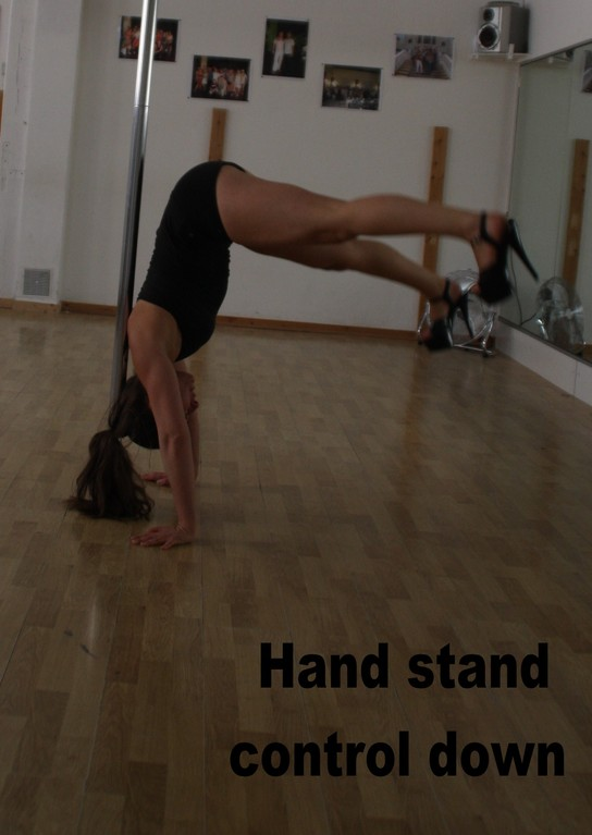 Head stand control down