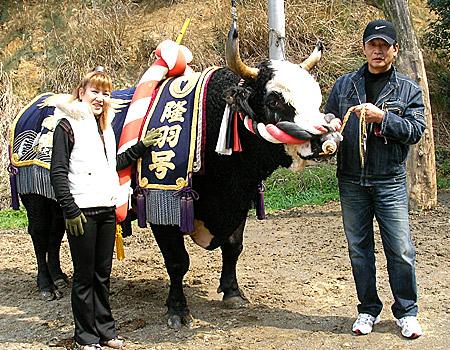 亀山さんの奥様、隆羽パンダ、亀山さん