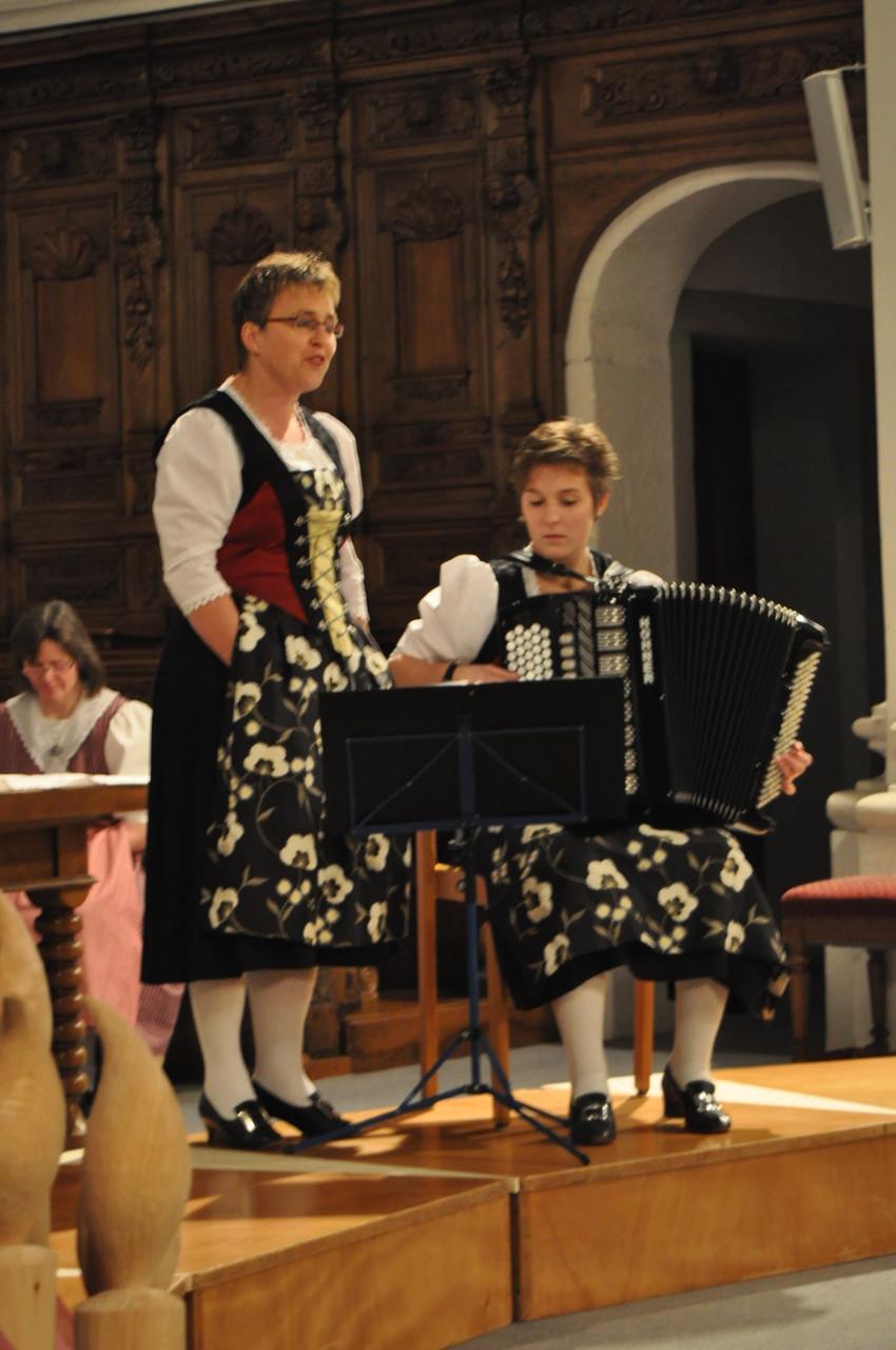 Solo-Jodlerin Irene Kieser