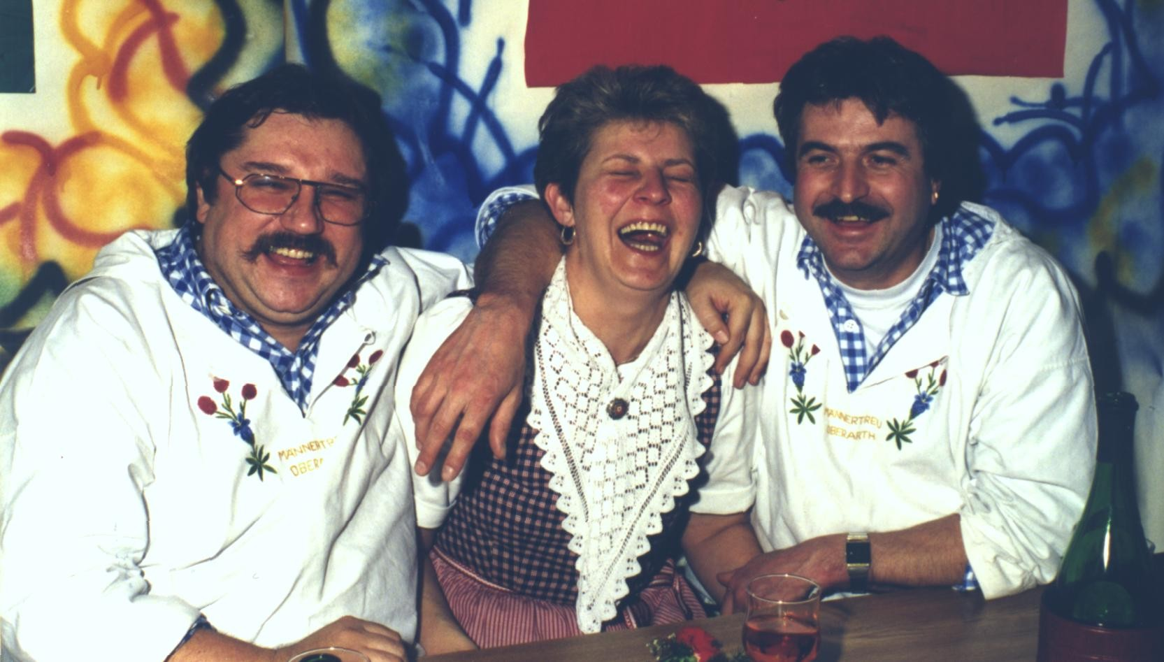 Bärti, Berti und Nobi nach der ZSJV-DV 1994