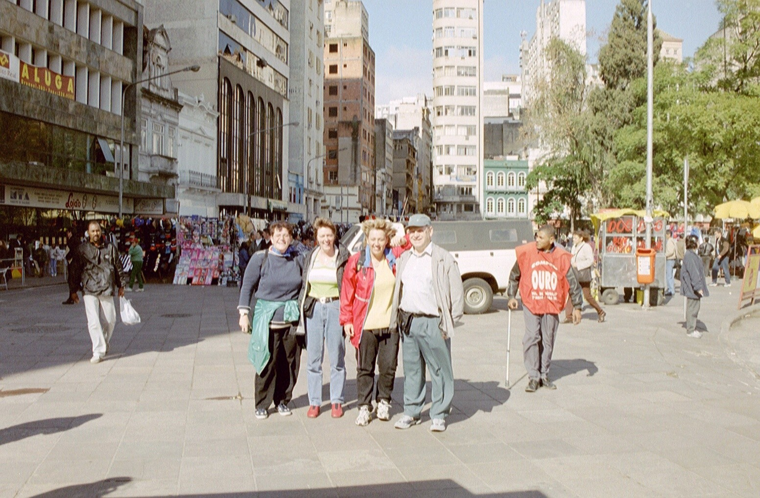 Besuch ganz im Süden von Prasilien in Porto Alegre