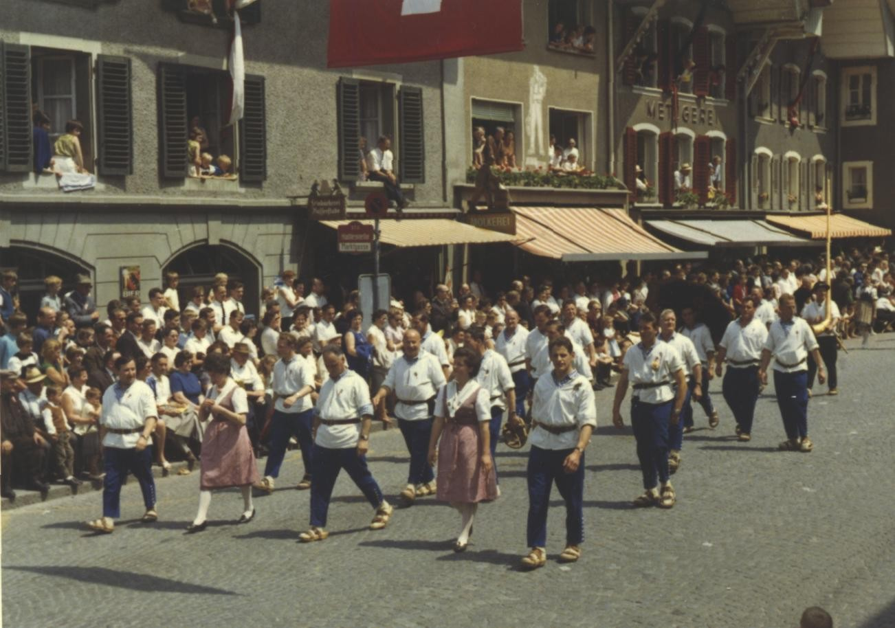 Am Eidg. Jodlerfest 1965 in Thun