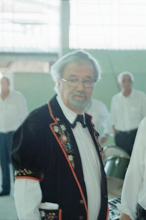 Organisator und Reiseleiter Sepp Wolf
