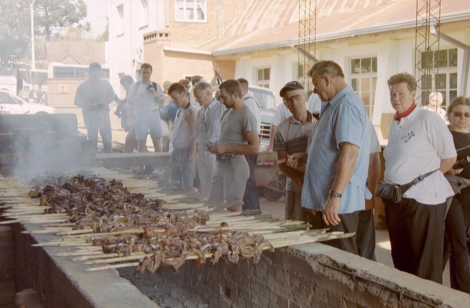 In Eldorado (Argentinien) wurde Fleisch im grossen Stil serviert